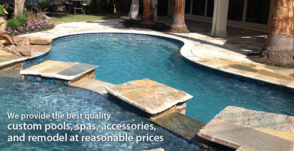 Riviera Pool custom pools